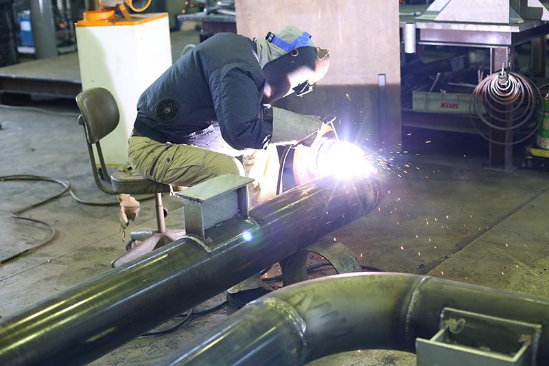 工場配管の製作・取付